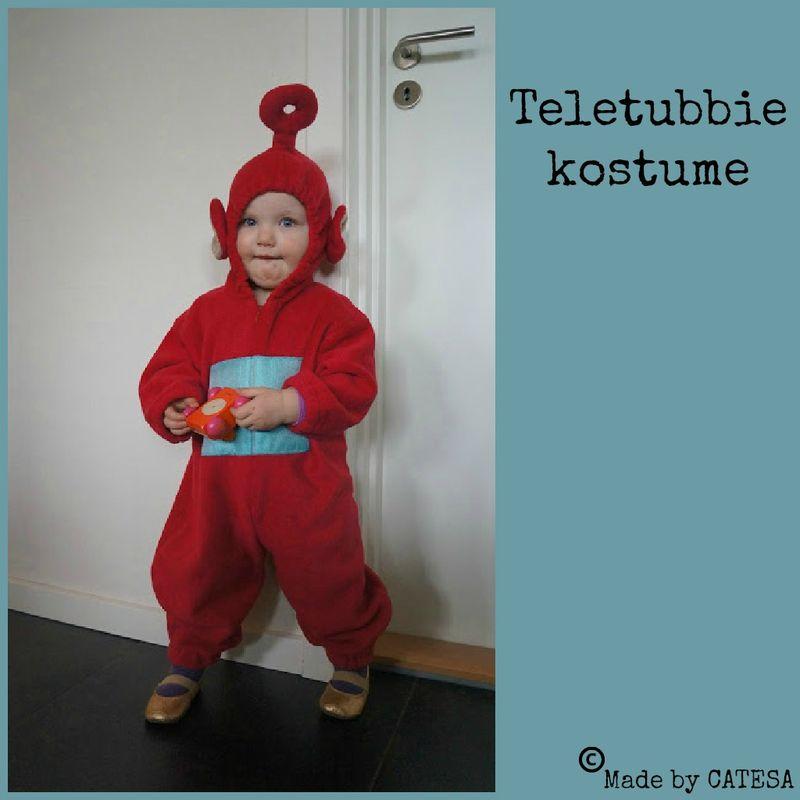 Teletubbie kostume