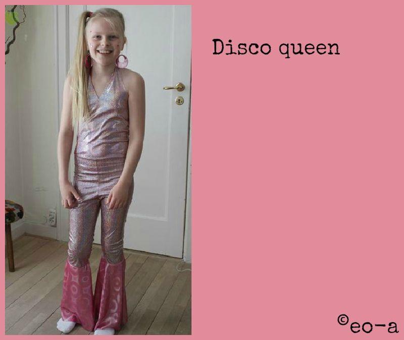 Disco queen kostume