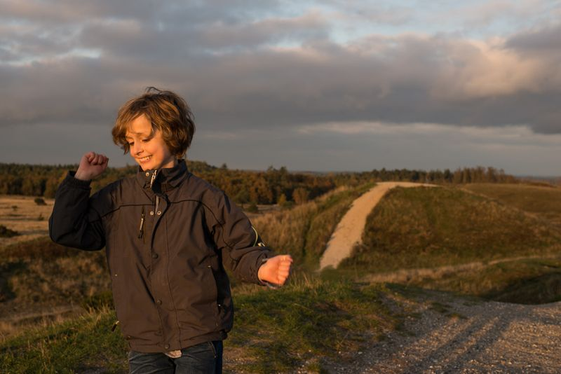Trehøje Rasmus løber