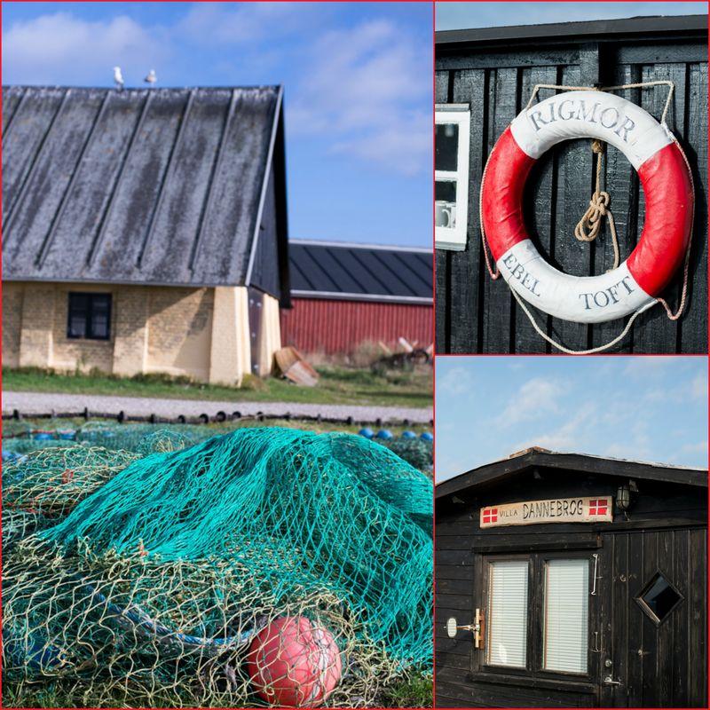 Fiskerihavnen i Ebeltoft