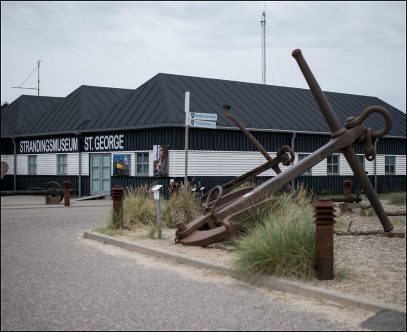 Anker ved strandingsmuseet