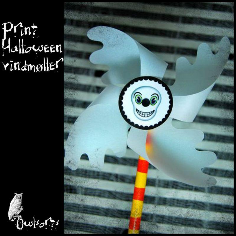Print Halloween vindmøller