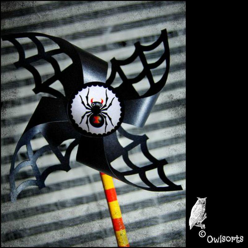 Halloween vindmølle