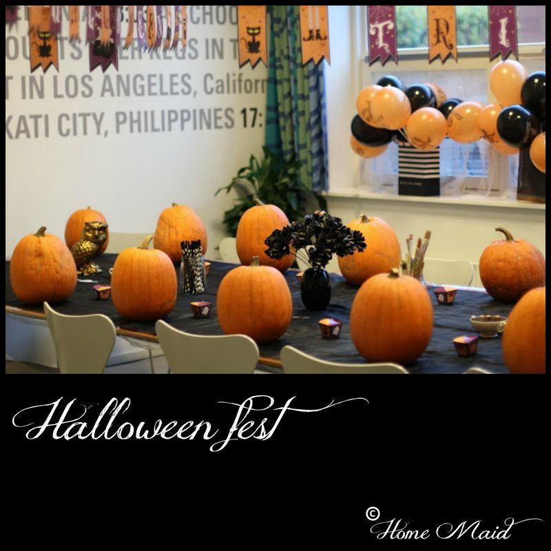 Halloween fest for børn
