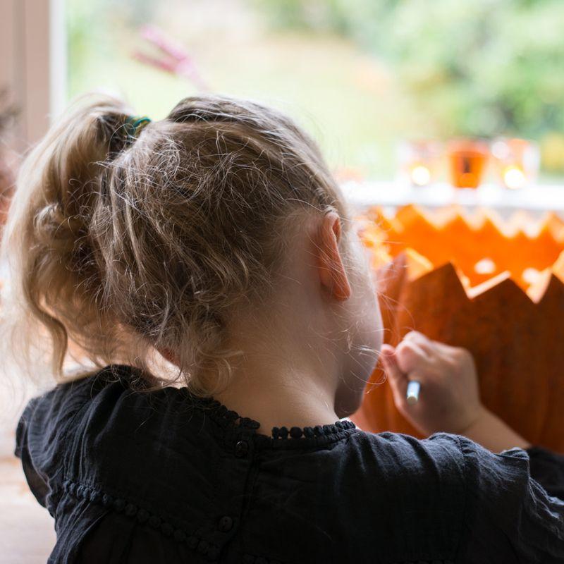 Anna designer Halloween græskar