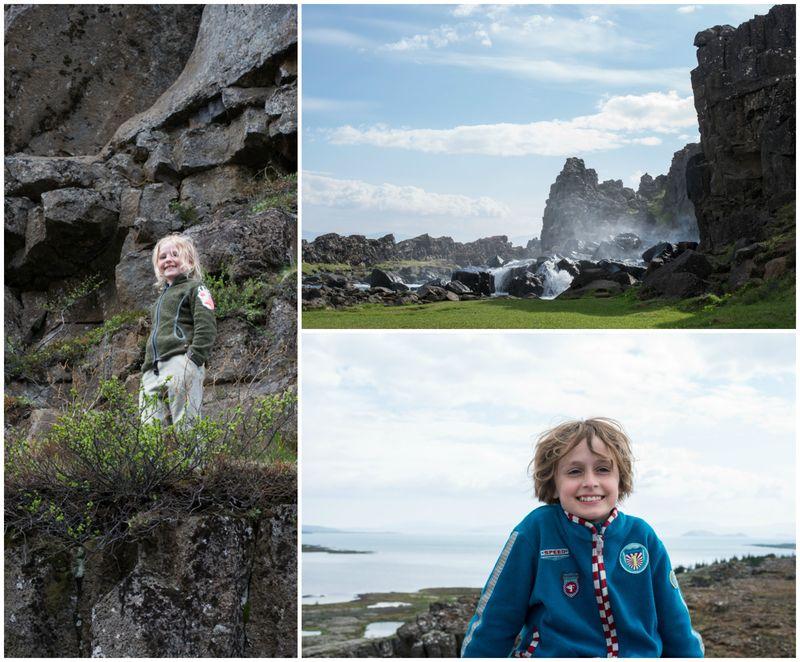 Thingvellir Island