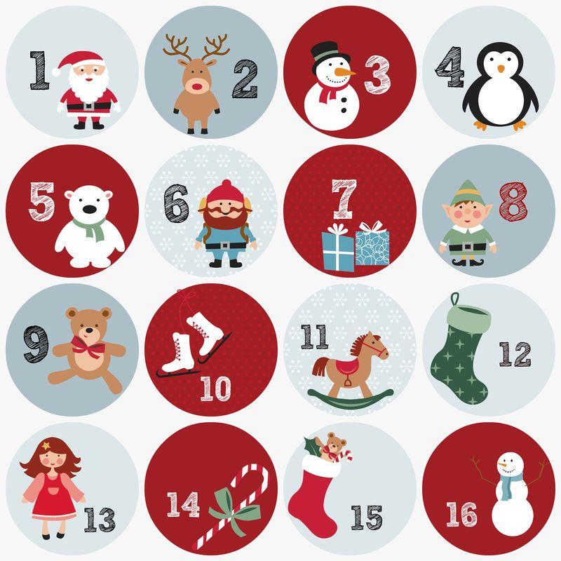Numre til julekalender