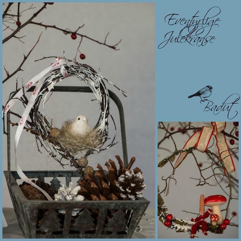 Eventyrlige julekranse