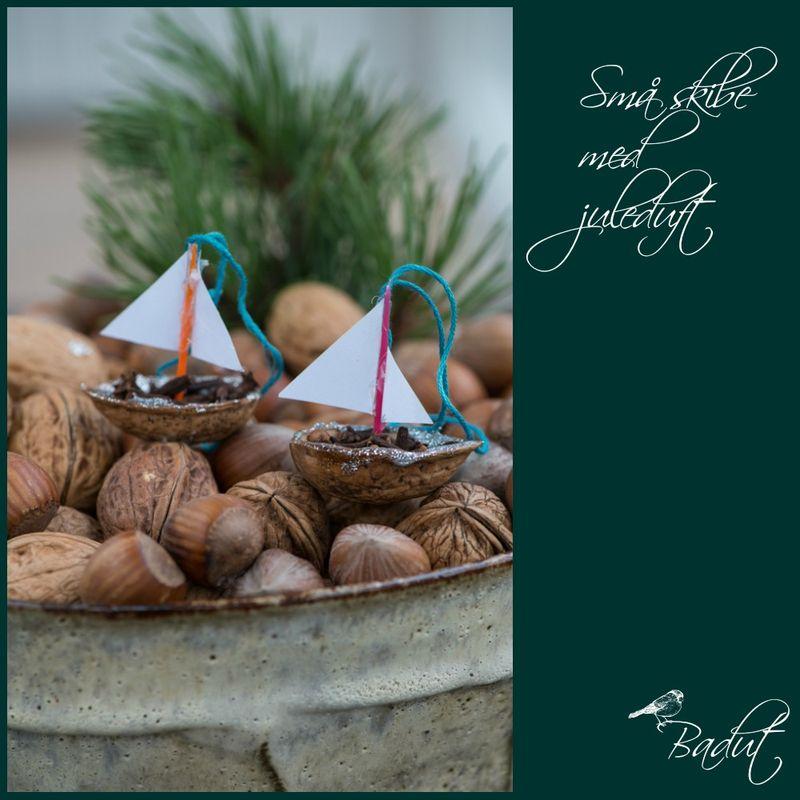 Små skibe med juleduft