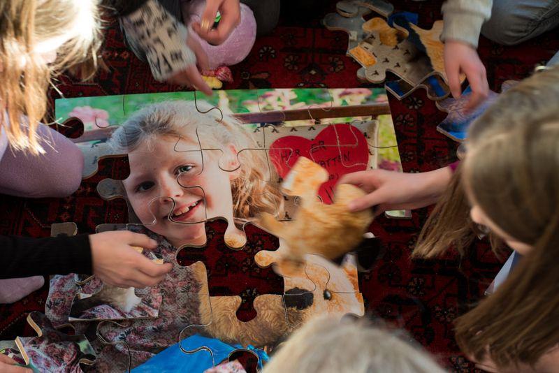 Sjov aktivitet til fødselsdagen