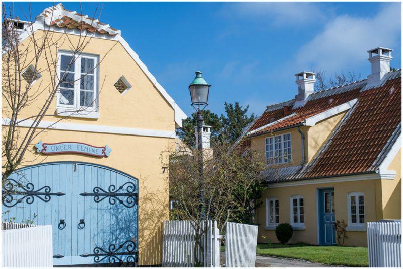 Skagens gule huse