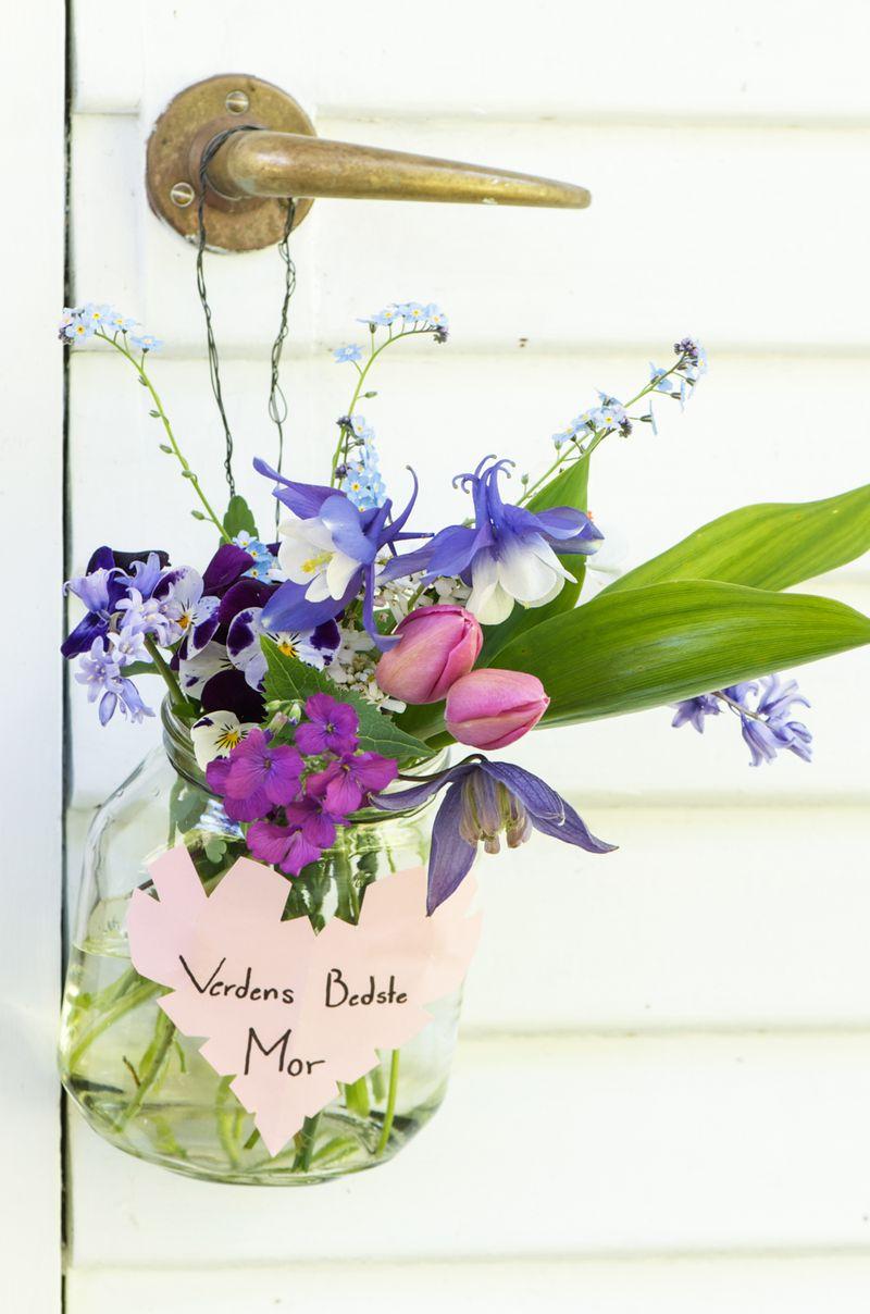 Blomster til mors dag