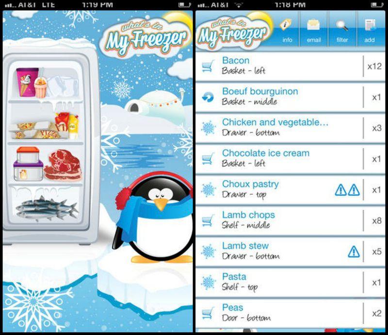 Fryser app