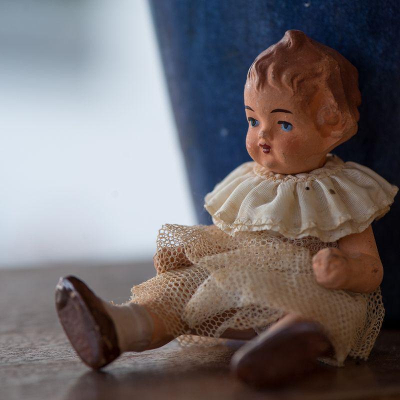 Gammel dukke