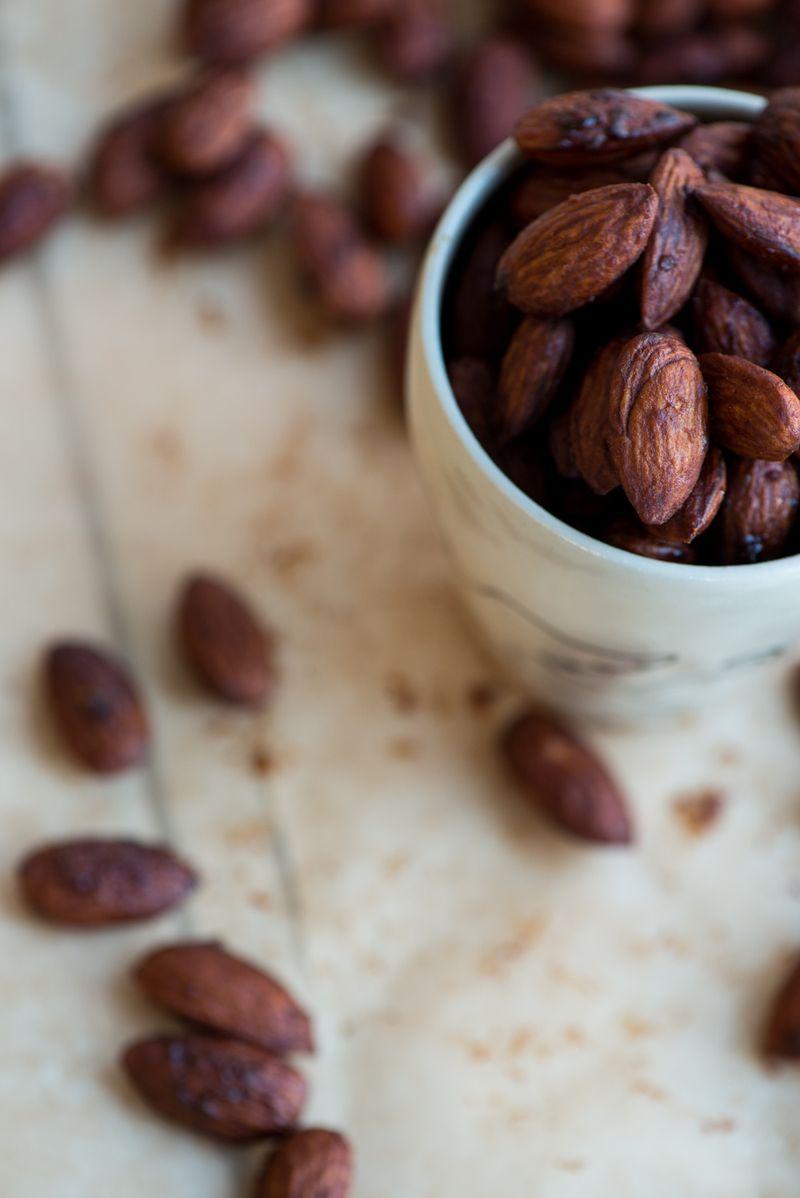 Opskrift på soya mandler