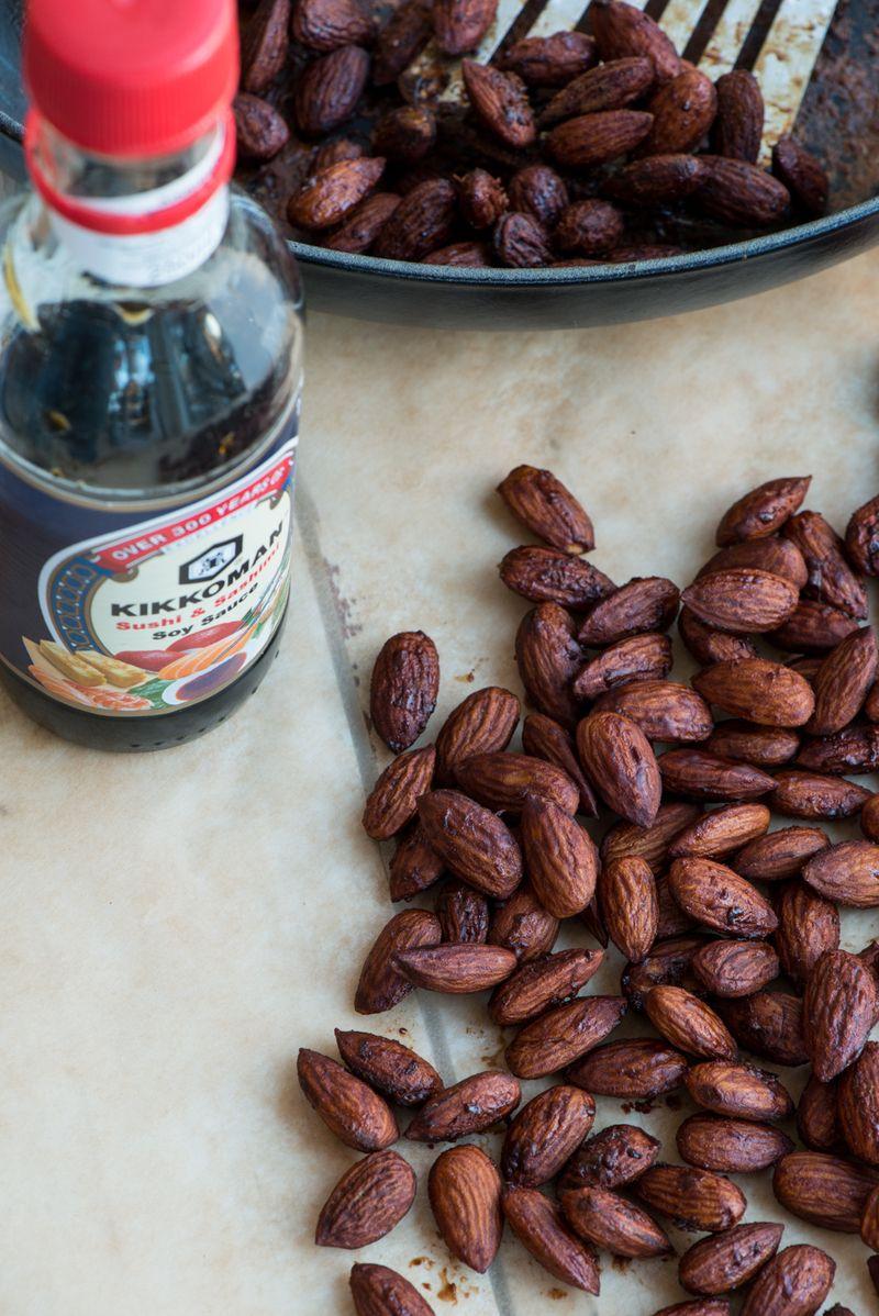 Sådan laves soya mandler