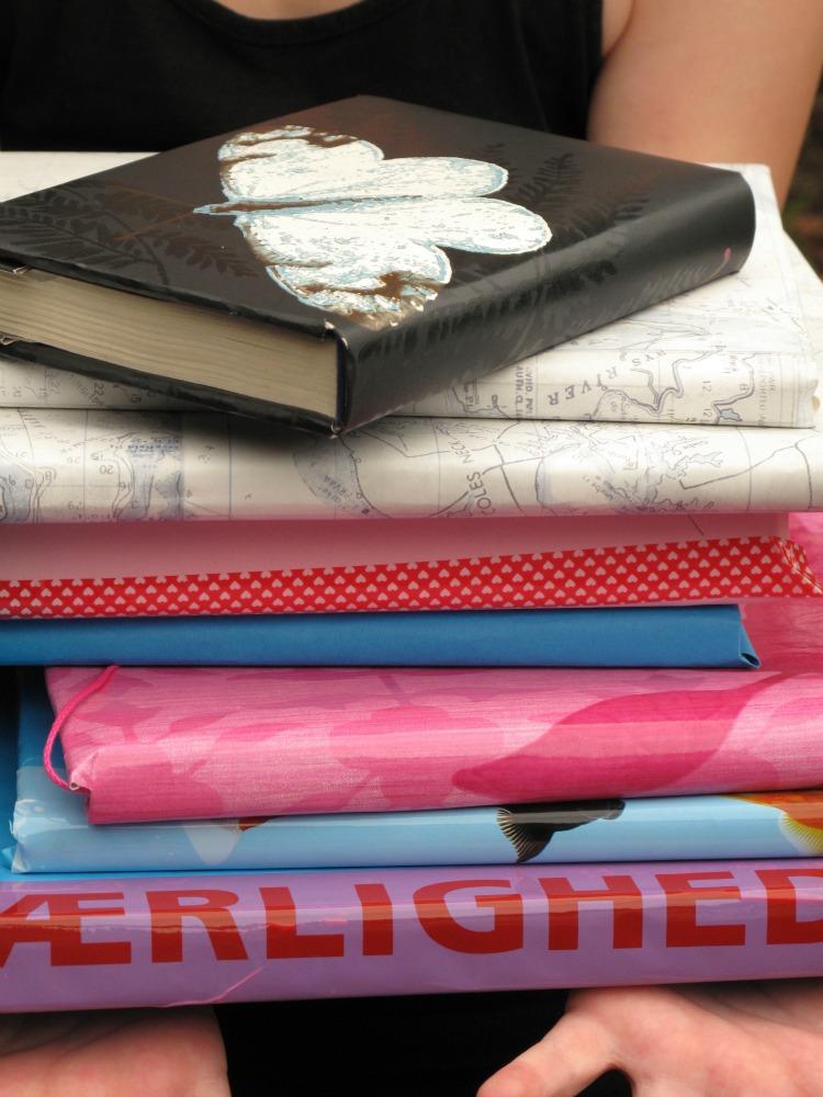 Sådan binder du skolebøger ind DIY