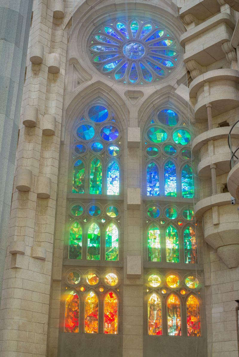 Sagrada Familia glas mosaikker
