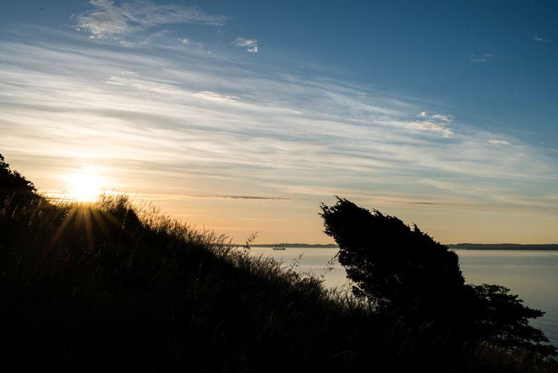 Himmel og morgenhav