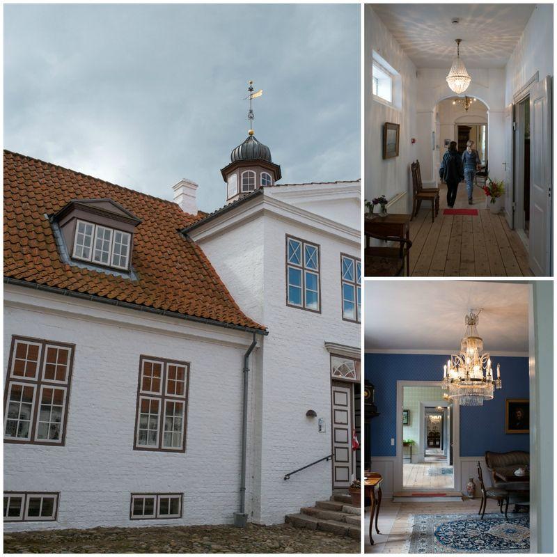 Indenfor på Nørre Vosborg