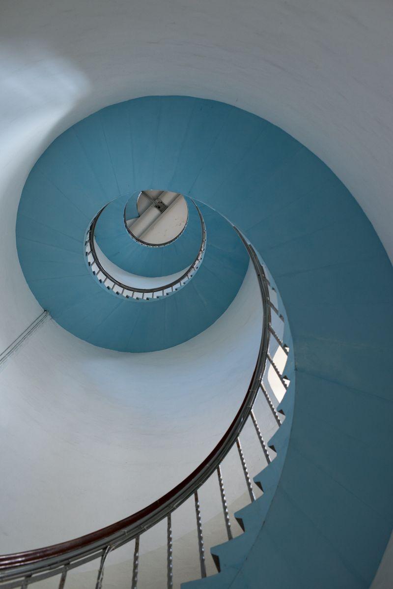 Lyngvig fyr den smukke trappe