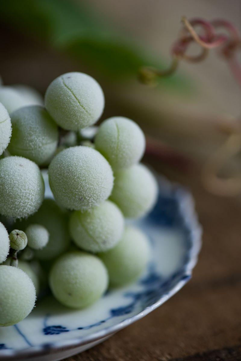 Lækre frosne vindruer