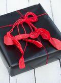 Kreativ julegaveindpakning