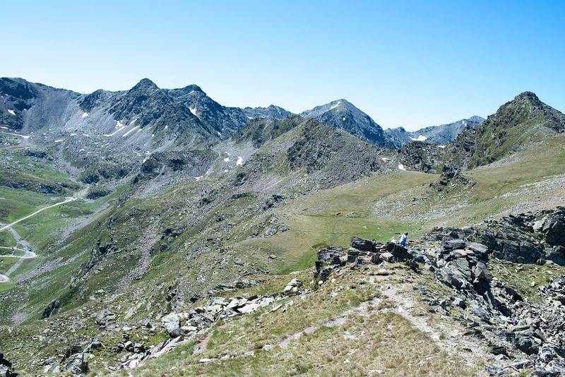 På sommer vandring i Andorra