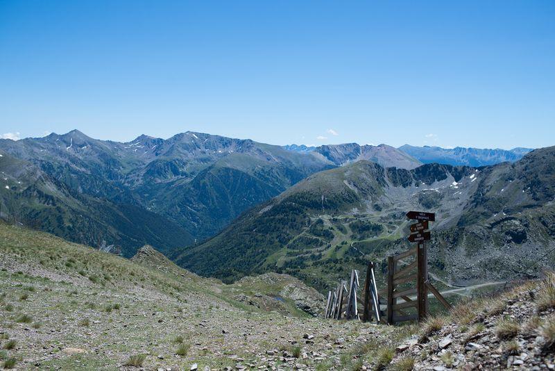 Udsigt til Andorra