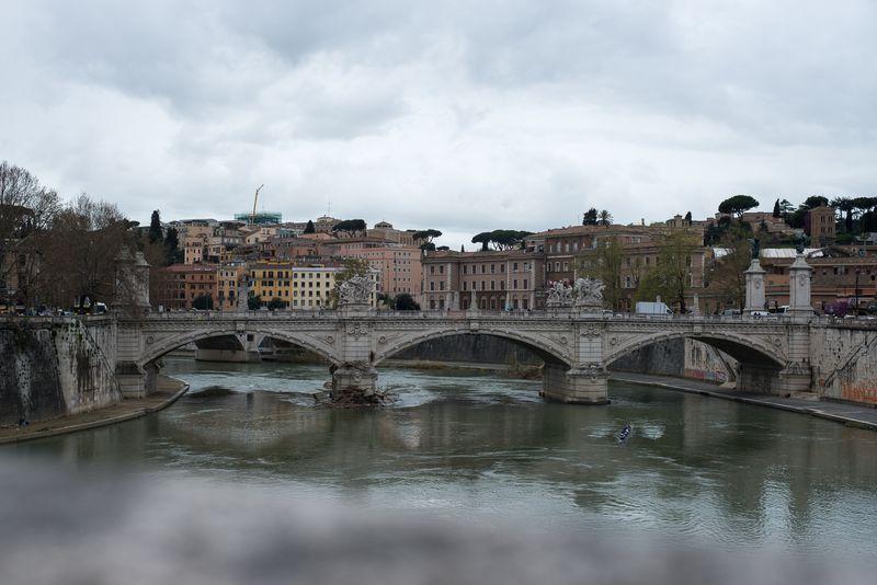 Udsigt fra Ponte Sant'angelo