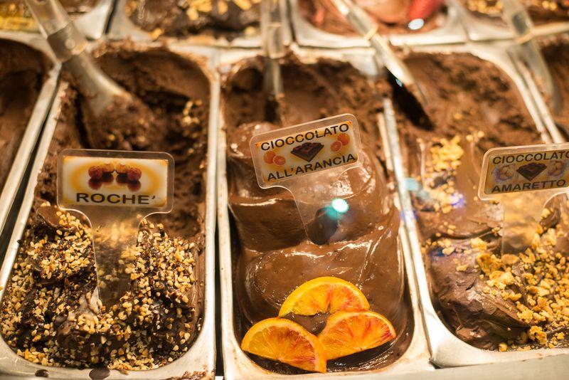 Lækker is i Rom