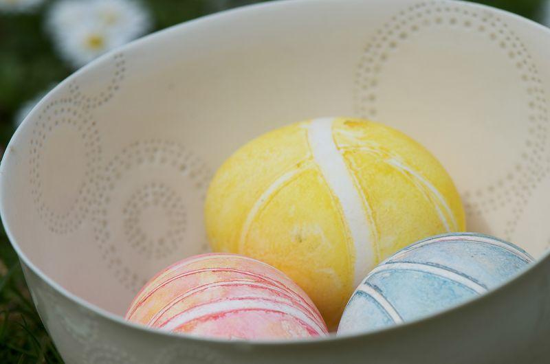 Farv æg til påske