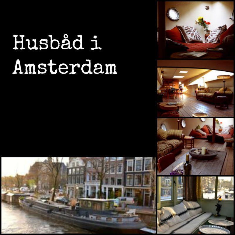Husbåd i Amsterdam