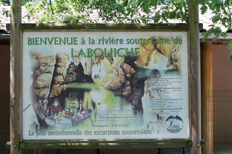 Sejl på underjordisk flod i Frankrig