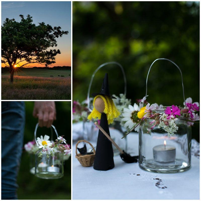Lanterner i sommernatten DIy