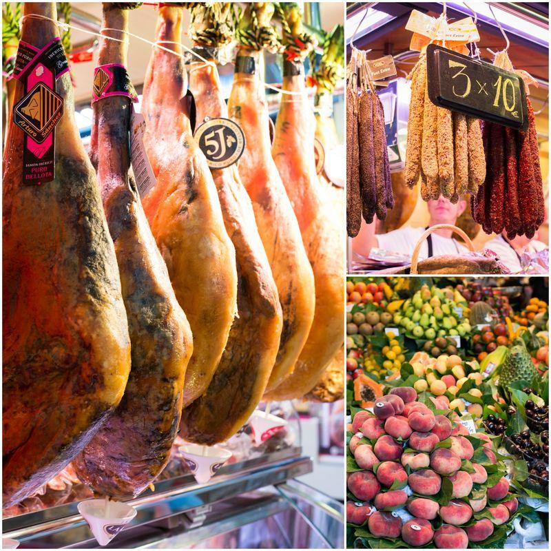 Tænk at handle her på Barcelonas berømte fødevaremarked