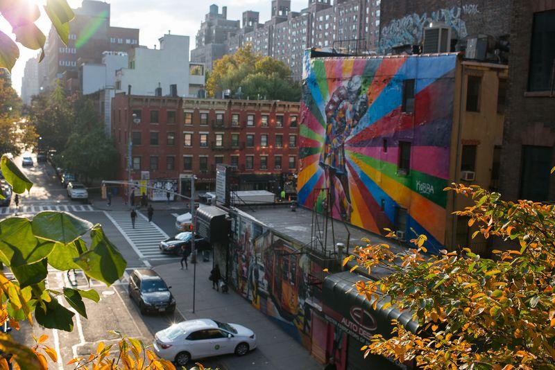 Udsigt fra The High Line