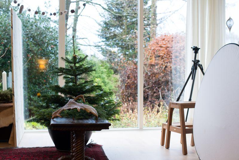 Jeg jule fotograferer