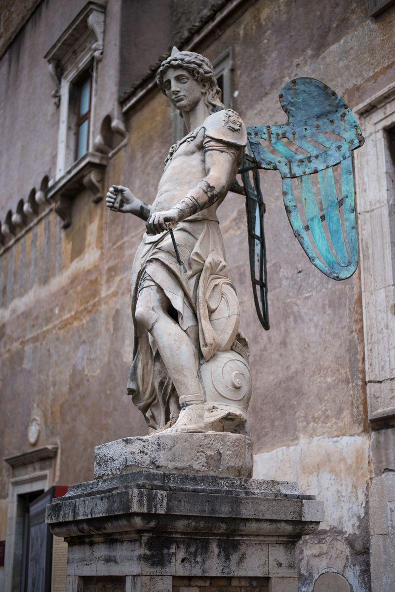 Statue i Castel Sant'Angelo