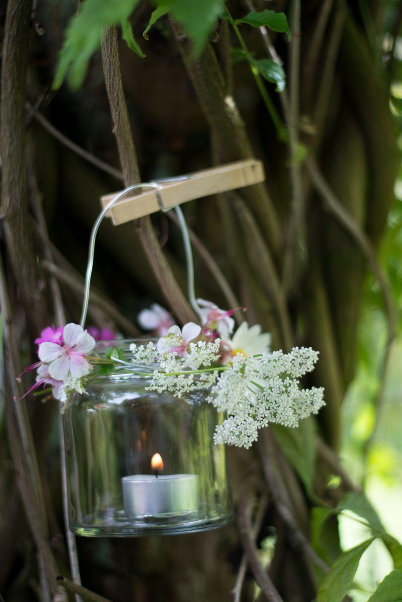 Blomster lanterne