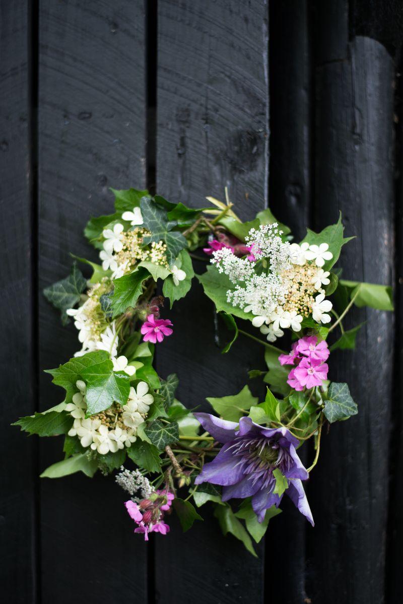 Blomsterkrans DIY