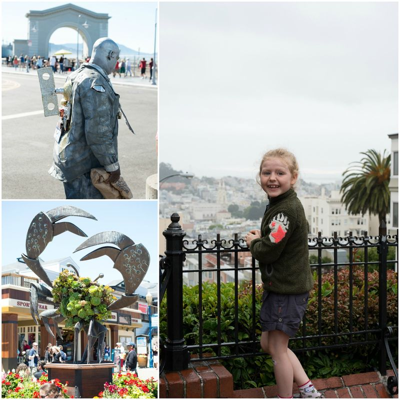 Med børn i San Francisco