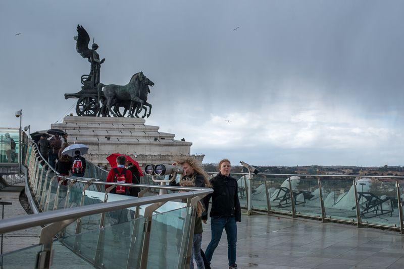 Udsigtsplatform Victor Emmanuel Monument