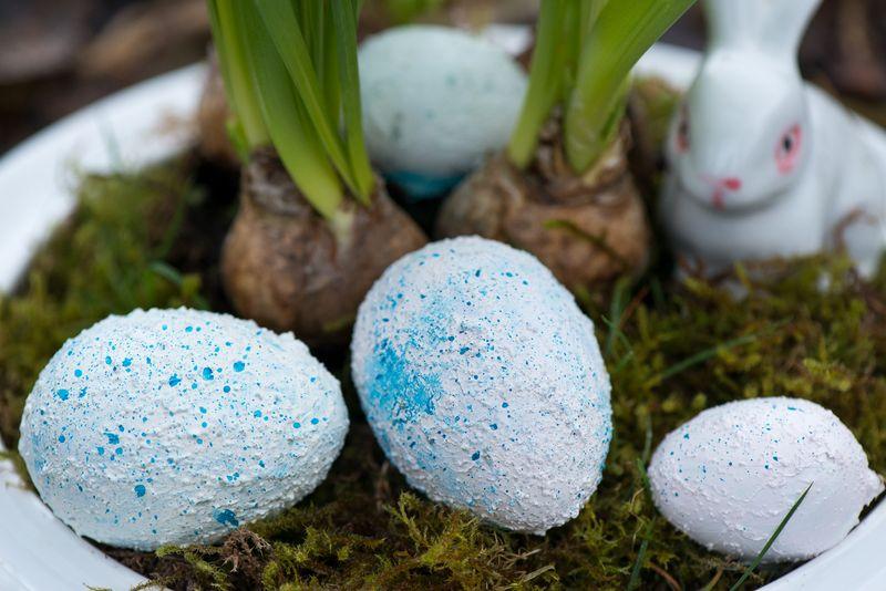 æg til påskedekoration